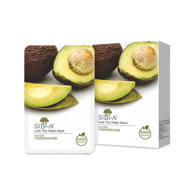 SIBI-A Avocado lock the water mask 25ml 5pcs