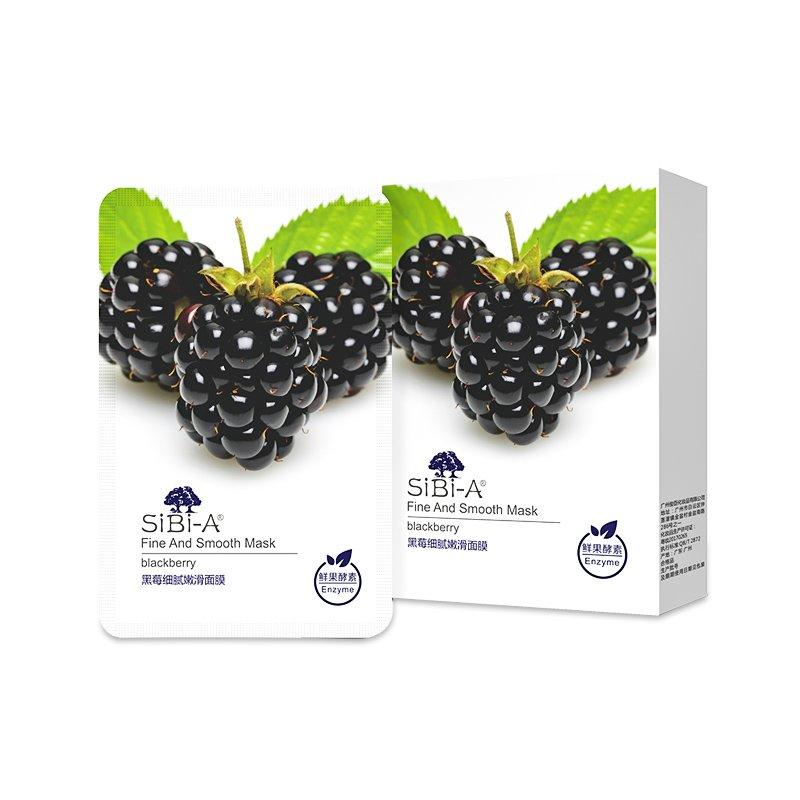 SIBI-A Blackberry fine and smooth mask 25ml 5pcs