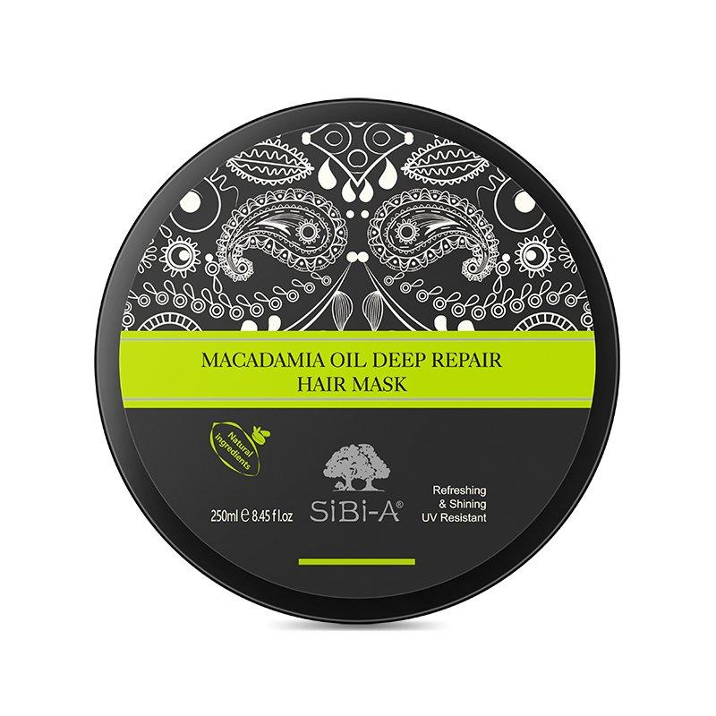 SIBI-A High Quality macadamia oil hydrating hair mask 250ml